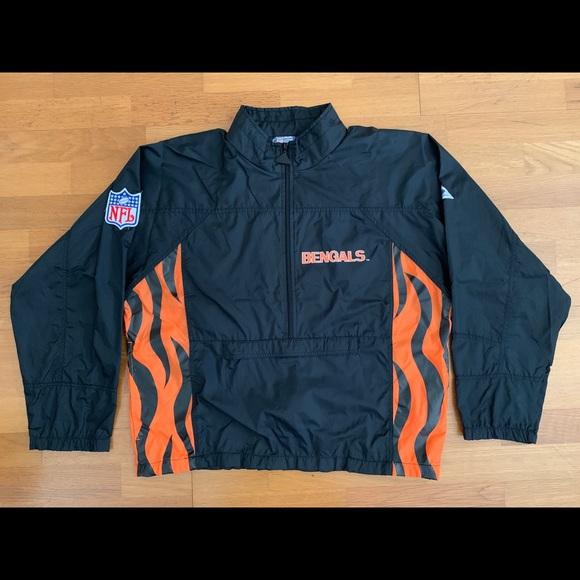 c9c9323d Vintage Cincinnati Bengals Windbreaker Jacket